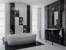 Керамическая плитка при расширении пространства ванной