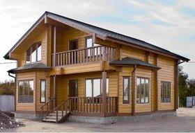 Как самому построить дом из профилированного бруса