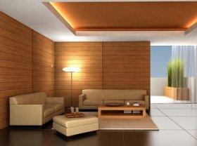 Оригинальное решение: использование ламината для отделки стен