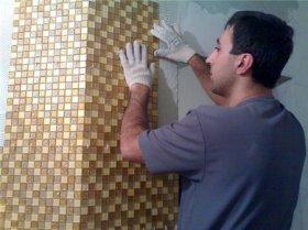 Как подготовить стену перед монтажом мозаики?
