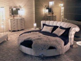 Почему красивые круглые кровати приобретают только состоятельные люди