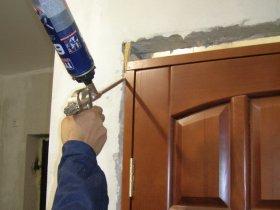 Порядок монтажа межкомнатной двери
