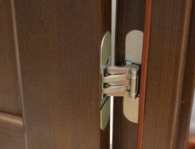 Как устанавливаются навесы на межкомнатной двери?