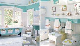 Детский интерьер для ванной комнаты