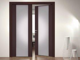 Разновидности межкомнатных распашных дверей