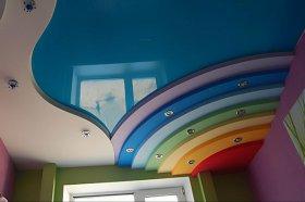 Особенности монтажа многоуровневых натяжных потолков