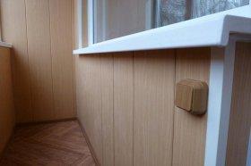Классификация панелей для отделки балкона