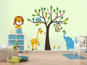 Отделка стен в детской комнате