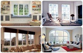 Применение дополнений к пластиковым окнам в качестве декора