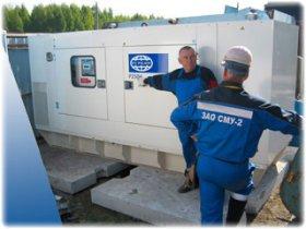 Преимущества дизельных генераторов, использующихся в строительстве